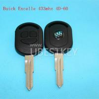 Buy cheap Buick Excelle 3-button remote key (433MHZ) from wholesalers