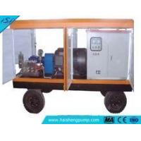 3D2 Trailer housing type high pressure pump with controll box