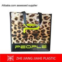 Luxury MARKET pp non woven Fashion shopping bags for stores
