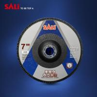 Buy cheap 72 Tablet aluminum oxide flexible abrasive flap disc from wholesalers