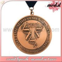 Buy cheap wholesale custom medals no minimum order medal of honor from wholesalers