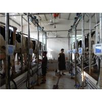 Buy cheap herringbone typed milking parlor with automatic cluster remover from wholesalers