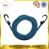 Buy cheap good quality bungee cord with double metal hook Pass 88LBS test product