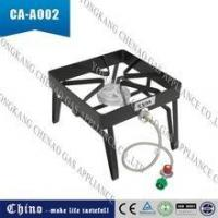 Buy cheap Outdoor Portable Single Propane Burner, Camping Square Stove Gas Patio Cooker from wholesalers