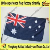 Buy cheap Promotion factory directly supply Australia satin flag product