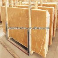 Buy cheap Yellow onyx Yellow onyx marble from wholesalers