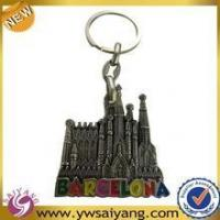 Buy cheap High Quality Souvenir Custom Metal Keychain For Barcelona product