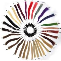 Buy cheap Keratin bonded hair extension Colour Chart from wholesalers
