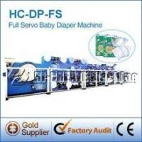 Buy cheap Baby Diaper Manufacturing Machine from wholesalers