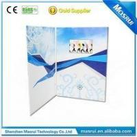 Buy cheap Beautiful Snowflake Design LCD Greeting Video Card for Promotional Gift from wholesalers