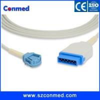Buy cheap GE-Ohmeda rectangle 11pin,suitable for nellcor oximax probe,spo2 extension cable from wholesalers