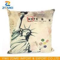 20PCS/carton American goddess printed Home canvas pillow wholesale
