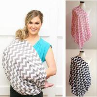 Buy cheap 100% cotton baby breastfeeding cover chevron nursing scarf from wholesalers