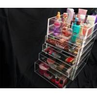 Buy cheap Acrylic organizer Clear 5 6 7 drawer Kardashian-style acrylic makeup storage organizer product