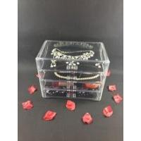 Buy cheap Acrylic organizer Acrylic 4 Drawers Organzier Box product