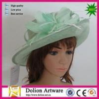 Buy cheap NY Fashion Cocktail Fashion Sinamay Fascinator Hat Flower Design from wholesalers