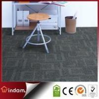 Buy cheap Stock quality guaranteed 600g/m2 grey color PP carpet tiles square product