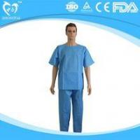 Buy cheap Supplier For Disposable Scrub Suits Wholesale from wholesalers