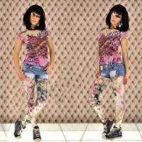 Buy cheap Wholesale fashion tights seamless tattoo leggings for women from wholesalers