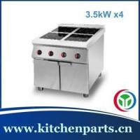 Buy cheap 4 burner induction cooktop free standing commercial use from wholesalers