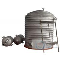 Vacuum emulsifying mixer Large storage tank