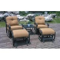 Buy cheap Outdoor furniture Rock Port 5 PC. Swivel Glider Chat Group Model No.HJ-2241/5 from wholesalers