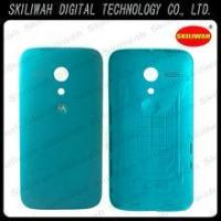 Buy cheap New Product Mobile Phone Parts Bright Blue For Motorola Moto G XT1032 Back Cover from wholesalers