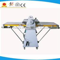 Buy cheap stainless steel electric pizza dough sheeter, pizza dough roller for bakery with automatic from wholesalers