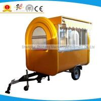Buy cheap High quality street food vending van, pizza&icecream selllig truck, mobile food cart for sale from wholesalers