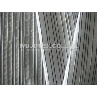 Buy cheap 129g/sm Spandex Weft Cotton Poly Fabric Cloth with Plain Weave and Dobby Stripe from wholesalers