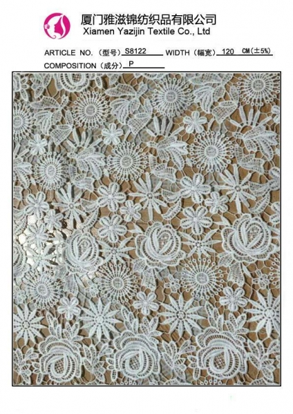 Popular images of chemical lace fabric cheap hand