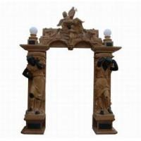 China Marble Sculpture Carving Door Surround (DF314) on sale