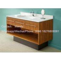 Buy cheap hotel bathroom cabinet hot sell wooden cabinet vanity from wholesalers