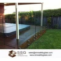 Buy cheap Glass Vice Frameless Glass Pool Fence from wholesalers