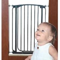 Buy cheap Baby Safety Gate w Door Extra Wide Metal Expandable Walk Thru Dog Fence Child from wholesalers