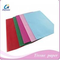 Buy cheap colorful tissue paper,gift wrapping tissue paper Model No.: Jy-1301 from wholesalers