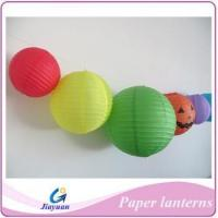 Buy cheap Wedding paper lanterns,decoration round paper lantern from wholesalers