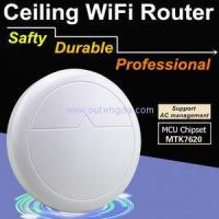 Buy cheap 300mbs Wi-fi 802.11n Rippleos Ceiling Wireless ap Wifi Router Repeater 48V Access Points from wholesalers