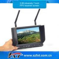 Buy cheap No blue screen 32CH 5.8GHz Diversity Receiver 7 inch FPV Monitor for DJI Phantom 2 from wholesalers