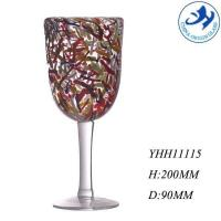 Buy cheap Hot selling mouthblown colorful designed drinking glass from wholesalers