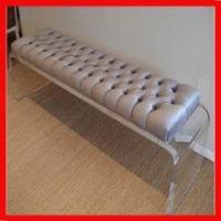 Buy cheap solid custom hot bending lucite clear sofa bench base/leg product