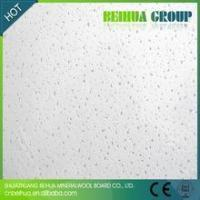 Buy cheap Noise Reduction Mineral Fiber Ceiling Tiles from wholesalers