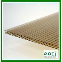 Buy cheap 10mm Bronze Twin Wall Polycarbonate Sheet from wholesalers
