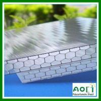 Buy cheap Honeycomb PC Hollow Sheet 20MM Cellular Polycarbonate Sheet from wholesalers