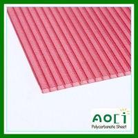 Buy cheap Polycarbonate Glittering Hollow Sheets from Wholesalers