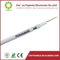 Buy cheap Quad Shield RG6 Coaxial Cable for CATV/MATV/CCTV Equipments from wholesalers