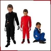 Buy cheap Child Racing Suit (6) 2013 the latest 2 layer one piece kids car racing suits RB-K0003 from wholesalers