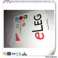 Buy cheap Membrane switch custom membrane keypad switch / graphic overlay / control panel from wholesalers