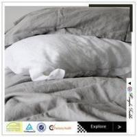 Buy cheap luxury solid color bed sheet sets queen size pure linen flat sheet from wholesalers