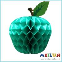 Buy cheap PAPER CRAFT Apple honeycomb 3D paper decoration from wholesalers
